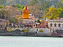 Temples across the Ganges near Swargashram, Muni Ki Reti, Rishikesh.jpg
