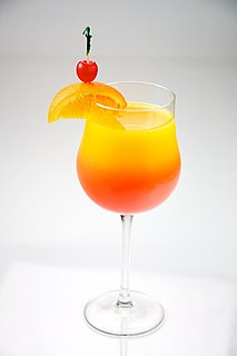 Tequila Sunrise (cocktail) cocktail made with tequila