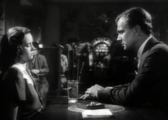 Teresa Wright - Teresa Wright and Joseph Cotten in Alfred Hitchcock's Shadow of a Doubt (1943)