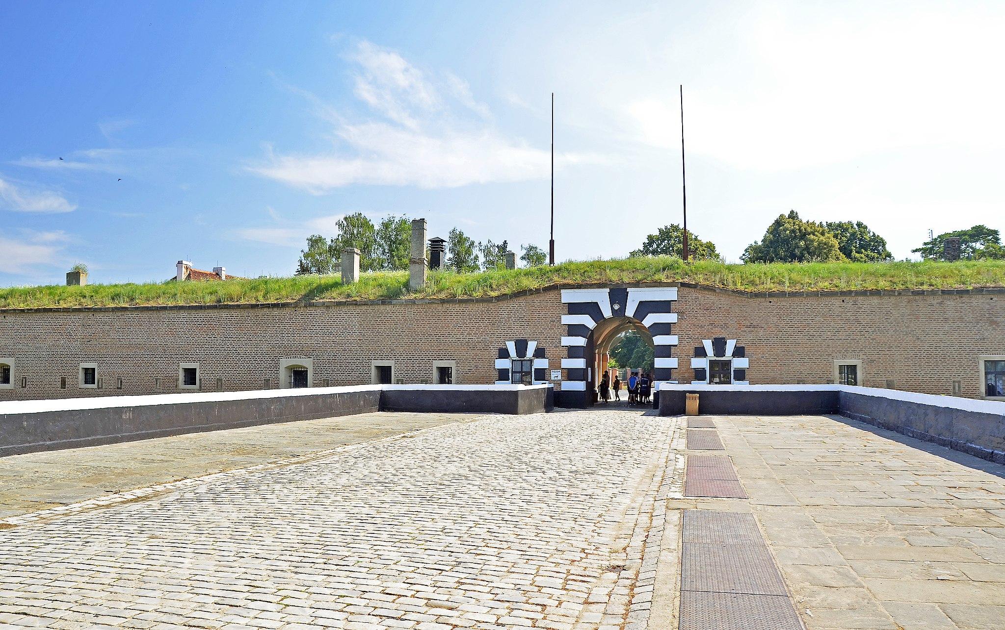 Terezin (KZ Theresienstadt) Festungstor