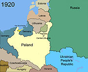 Territorial changes of Poland 1920