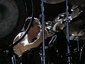 Terry Bozzio - Terry Bozzio performing with Fantômas at Quart Festival, Norway on July 9, 2005.
