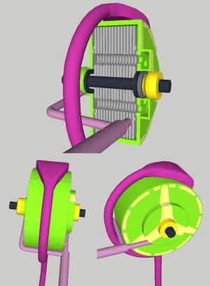 Tesla turbine - Tesla turbine