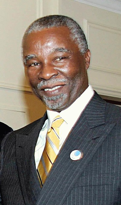 Thabo Mbeki, South African politician, President of South Africa