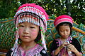 Thailand Wat Phra That Doi Suthep Temple Girls in Traditional Clothing.JPG