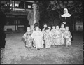 The Angel Guardian Home, a Catholic home for orphans, in Kumamoto, Japan. As Private Louis Miller, Brooklyn, New... - NARA - 532567.tif
