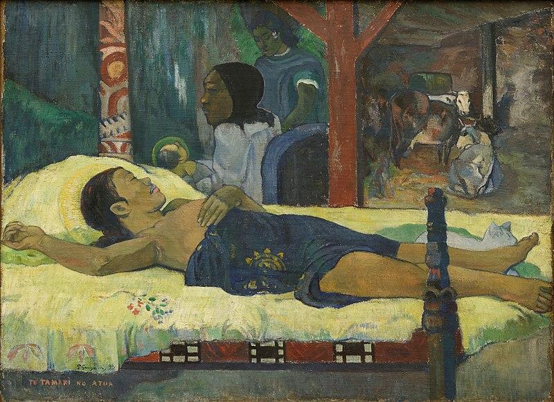 File:The Birth - Te tamari no atua Paul Gauguin 1896.jpg