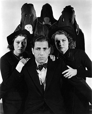Black Legion (film) - Erin O'Brien-Moore, Humphrey Bogart and Ann Sheridan