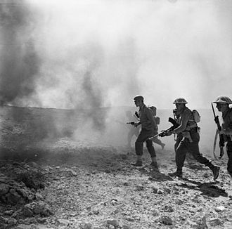 Battle of Wadi Akarit - Image: The British Army in Tunisia 1943 NA2177