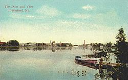View of Sanford c. 1912