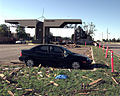 The F-5 tornado that devastated a good portion of Oklahoma City, Oklahoma just barely missed destroying Tinker AFB, Oklahoma . The base caught the outer edge of the tornado and suffered little major damage, but DF-SD-00-03251.jpg