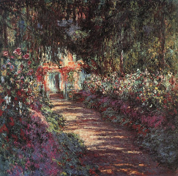File:The Garden in Flower Claude Oscar Monet 1900.jpg