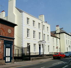 The Grange at 12–16 St James Street, Monmouth