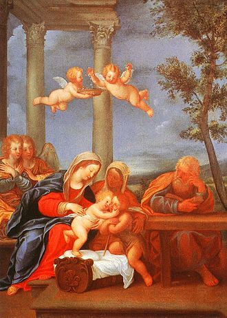 Francesco Albani - Image: The Holy Family