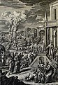 The Phillip Medhurst Picture Torah 332. The plague of boils. Exodus cap 9 vv 8-11. Fridrich.jpg