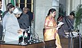 The President Dr.A.P.J.Abdul Kalam administering the Oath (Minister of State) to Smt.D.Purandareswari, in New Delhi on January 29,2006.jpg