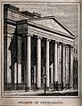 The Royal College of Physicians, Trafalgar Square; the porti Wellcome V0013848.jpg