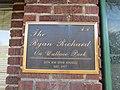 The Ryan Richard on Wallace Park plaque, Portland.JPG