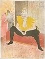 The Seated Clowness (Mademoiselle Cha-u-ka-o) (from the series Elles) MET DP234433.jpg