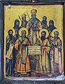 The Seven Saint and Saint John Vladimir and Saint Erasmus Icon.jpg