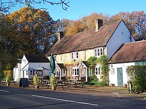 Balls Cross - Image: The Stag Inn, Balls Cross geograph.org.uk 1041448