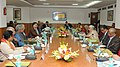 The Union Minister for Culture, Smt. Chandresh Kumari Katoch addressing at the inauguration of the meeting of the coordination Committee on Living and Diverse Cultural Traditions, in New Delhi on February 18, 2013.jpg