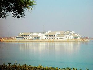 Binzhou - Image: The center lake of Binzhou