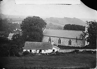 The church, Llansannan