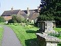 The churchyard, Biddenden, Kent - geograph.org.uk - 1602718.jpg