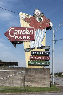 Camden Park (amusement park) amusement park located near Huntington, West Virginia
