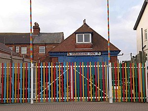 Skegness Lifeboat Station - The RNLI built boathouse of 1892