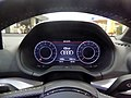 The meter of Audi Q2 30 TFSI sport (ABA-GACHZ).jpg