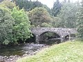 The old bridge over the River Ardle at Enochdhu - geograph.org.uk - 1500039.jpg