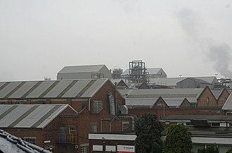 Camille Dreyfus (chemist) - British Celanese factory, Spondon, Derbyshire