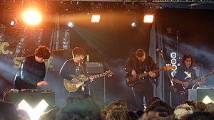 Xx (album) - The band performing at the Reading Festival in August 2009