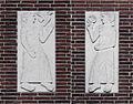 Thees Meesters - Reliëfs van mensfiguren met bloem en vogel.jpg