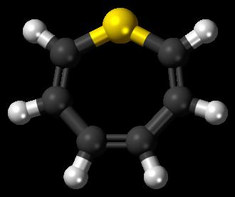 Thiepine - Image: Thiepine 3D balls