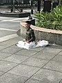 Thinking Man Sitting at Minsheng Park 20180322.jpg