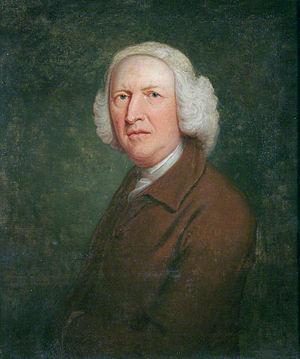 Thomas Bardwell - Self portrait (1765)