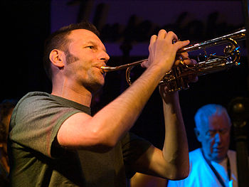 English: Thomas Heberer, Jazz trumpeter; Pictu...