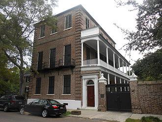 Thomas Heyward Jr. - The Thomas Heyward House at 18 Meeting St., Charleston, South Carolina a fine example of Adamesque design.