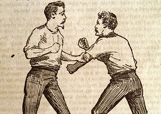 Colonel Thomas Hoyer Monstery - Monstery's boxing technique, 1878
