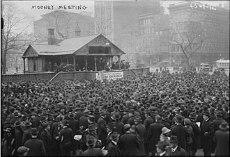 Thomas Mooney - Thomas Mooney protest in Manhattan in Union Square on March 9, 1918