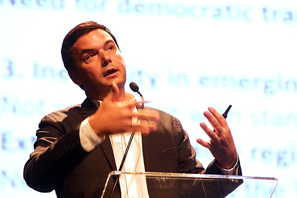 Thomas Piketty, economist and author of Capital in the Twenty-First Century Thomas Piketty no Fronteiras do Pensamento Sao Paulo 2017 (37517067951).jpg