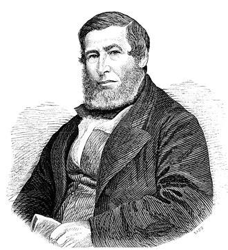 Thomas Turner à Beckett - Thomas Turner à Beckett, 1870 engraving