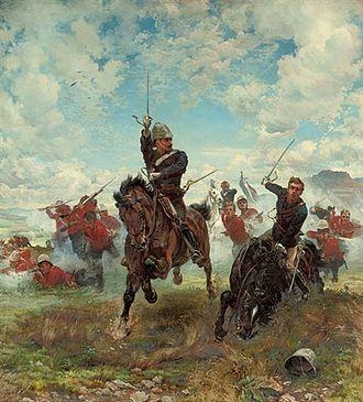 Battle of Laing's Nek - Elizabeth Thompson's Floreat Etona!