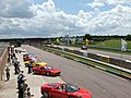 Thruxton race track - pit straight - geograph.org.uk - 1476030.jpg