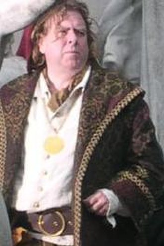 Timothy Spall - Spall filming Enchanted in New York City, March 2007