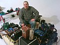 Tim Kaiser and his self made synthesizers & effect units.jpg
