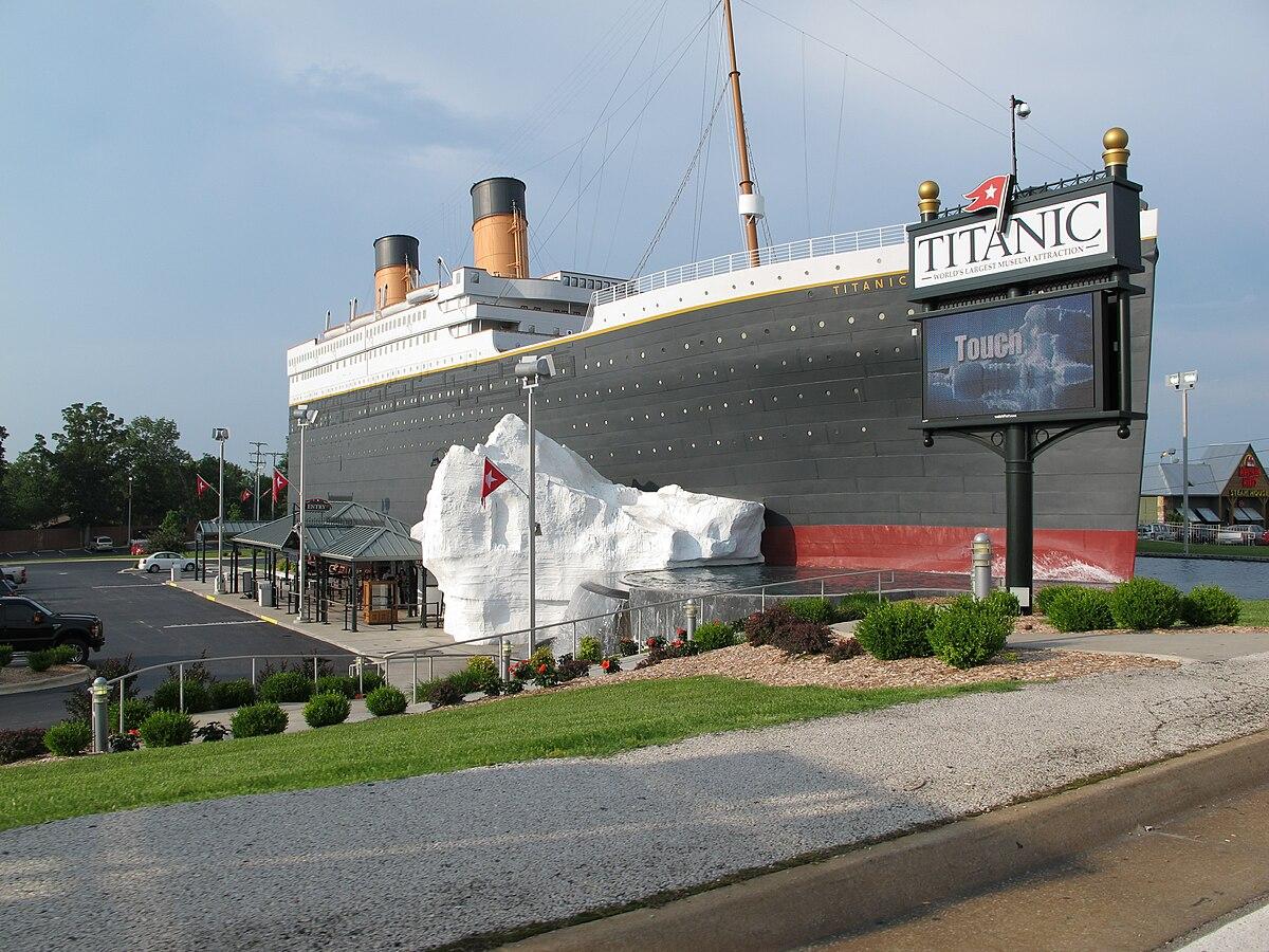 Titanic Museum Branson Missouri Wikipedia